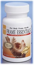 Frame Essentials with glusocamine sulfate, glucosamine HCL, MSN and boswellin